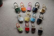 Unisex Flat Open-Toed sandals (Avarcas) in 12 Colours - Adult Sizes 2 - 10
