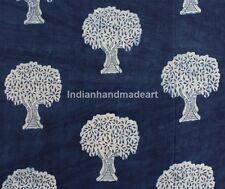 5 Yard Indian Hand Block Print 100% Cotton Soft Fabric Mud Resist Dabu Print 63