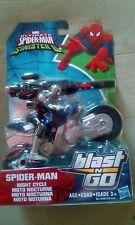 Marvel Ultimate Spider-Man vs Sinister 6 Spider-Man Night Cycle Blast N Go