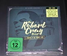 THE ROBERT CRAY BAND 4 NIGHTS OF 40 YEARS LIVE DOPPEL CD + DVD IM DIGIPAK NEU
