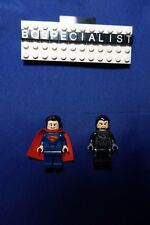 Lot of 2 Genuine LEGO DC Super Heroes Superman & Zod  MAN of STEEL