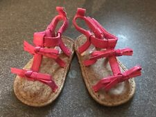 Girls Carters Sandals Pink Size 2
