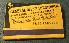 Matchbook - General Office Furniture Los Angeles CA FULL 40 Strike