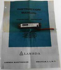 Lambda LHOV-4 Overvoltage Protector 3-24VDC