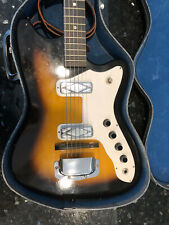 Silvertone Electric Guitar 60s Vintage with Case