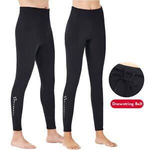 2mm Neopren Herren Damen Surf Schwimmen Taucherhose Lange Hosen Neoprenanzug