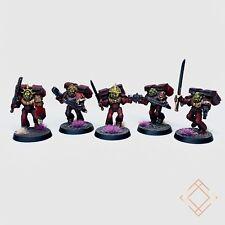 Warhammer 40k Blood Angels - Painted Vanguard Veteran Squad - BoxedUp