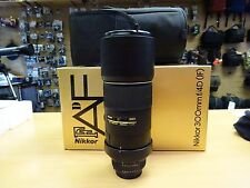 Nikon AF-S NIKKOR 300mm f/4D IF-ED Lens  WORKS but has issue