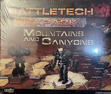 Battletech Flexpack Mountains and Canyons