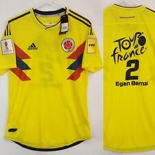 Adidas Colombia Egan Bernal Tour de France Home Soccer Jersey Size L World Cup