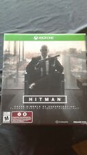 Hitman Pro Collector's Edition (Xbox One) no game just collectibles