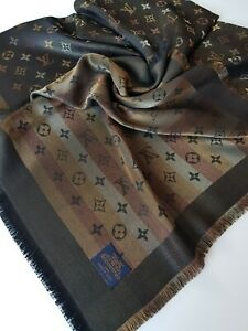 Scialle shiawl foulard original Louis Vuitton Monogram Shine