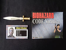 Biohazard Resident Evil Hong Kong Comic Promo mini metal knife 3