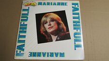 MARIANNE FAITHFULL Super Star 1982 VINYL LP w 12 Page Book IMPORT Italy