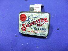 vtg needle tin songster 200 loud tone gramophone record sheffield