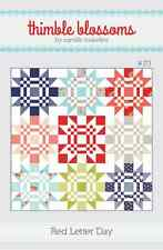 RED LETTER DAY by Quilt Pattern by Camille Roskelley for Thimble Blossoms