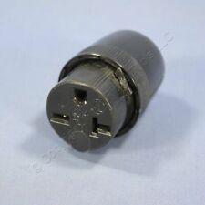 Pass & Seymour Straight Blade Connector Plug 20A 250V NEMA 6-20R Bulk 5866-BK