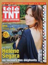TELE TNT PROGRAMMES 2009 HELENE SEGARA KARL LAGERFELD CATHERINE FROT PRISCILLA