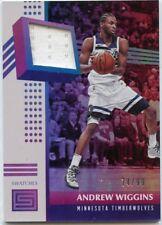 ANDREW WIGGINS 2017-18 Status Game Jersey #D /99 Minnesota Timberwolves