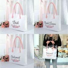 Bride Tote Bag Bridal Party Gifts for Wedding Day Handbags Accessories Floral