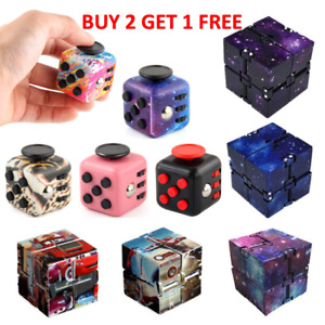 Fidget Cube Infinity Cube Stress Relief Autism for Kids and Adults Sensory Toy