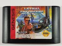 ¤ Lethal Enforcers ¤ (Game Cart) GREAT Sega Genesis Authentic