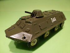USSR 3P30K ARMOURED TRUCK - ARMY GREEN 1:43- MILITARY - VG