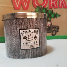 Bath & Body Works Marshmallow Fireside Scented Candle 14.5oz w/ essential oils