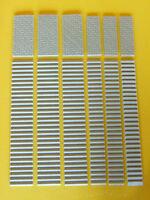 Scale per modellismo due misure + piazzole  pezzi 12 scala 1:100-1/87- Krea