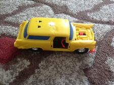 Vintage 1970s Jasman Smash Up Derby Junk Yard Jammers Yellow Car *WoW*