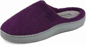 DREAM PAIRS Womens Faux Fur Lined Memory Foam Comfort Slip On House Slippers