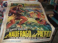 El Náufrago de Pacífico Manifesto 2F Original 1961