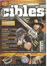 CIBLES N°403 WILSON / LE 17 MAG HORNADY / LE KRINKOV / WALTHER CO2 A LEVIER