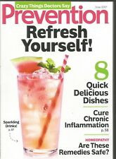 Prevention June 2017 Quick Delicious Dishes/Cure Chronic Inflammation