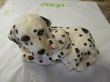 Dalmatian Mama and Puppy Music Box