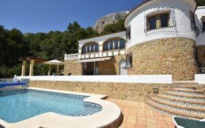 Ferienhaus mit privatem Pool, 4 Pers, 2 Schlafzi, SPANIEN - Costa Blanca - JAVEA