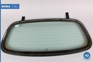 97-06 Jaguar XK8 XKR X100 Conv Rear Windshield Windscreen Window Glass OEM