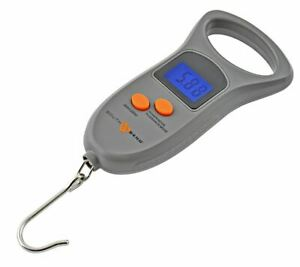 South Bend Fishing 50lb Digital Scale - Water Resistant, Auto Shut-Off, Lbs Kg