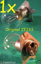 OPMI ZEISS Mikroskoplampe 6V 30W BA20d Mikroskop OP LAMPE LEUCHTE UNTERSUCHUNG Y