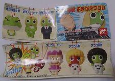 Sgt. Frog Keroro Gunso Costume Change Strap MK-I P1 Completed Set 6pcs
