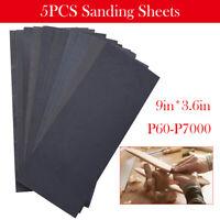 60-7000 Grit Car Paint Wet And Dry Sandpaper Abrasive Sanding Paper Sheets