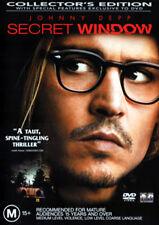 Johnny Depp SECRET WINDOW (COLLECTORS EDITION) - TAUT PSYCHOLOGICAL THRILLER DVD