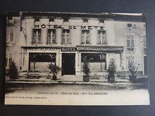 CHATEAU SALINS Moselle CPA 57 Hotel de Metz Mme Vve DINGENS