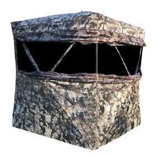 New Muddy Outdoors Infinity 2 Man Ground Blind Veil Camo Shadow Mesh Windows