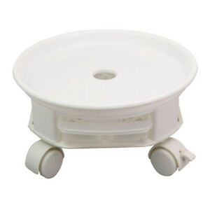 Heavy-duty Plant Caddy Flower Pot Indoor with Wheels Removable Water Drawer