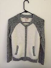 Forever 21 Sweater Cream/Black Jacket