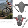 Road MTB Bike Mudguard Set Mountain Bike Bicycle Fender Front & Rear RideGuard