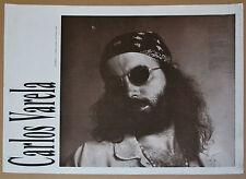 Cuban Original Cultural Poster for Carlos Varela Music Concert.Monedas al Aire.