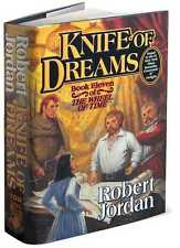 KNIFE OF DREAMS ~ ROBERT JORDAN ~ WHEEL OF TIME 11 ~ 1st PRINT HARDCOVER!