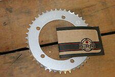 Brev. M Masi Fixie Fixed Gear Chain Ring Sprocket Chainring 42t Slvr 130 BCD 1/8